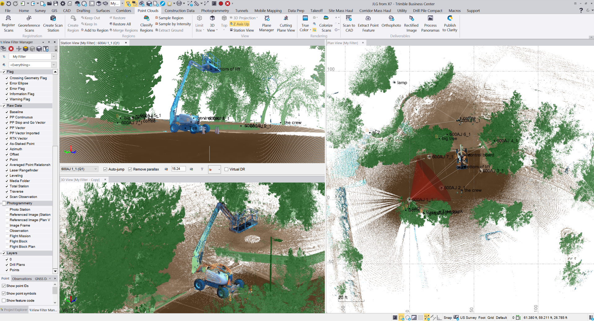 Working with Trimble Business Center 5.20 x64 full license