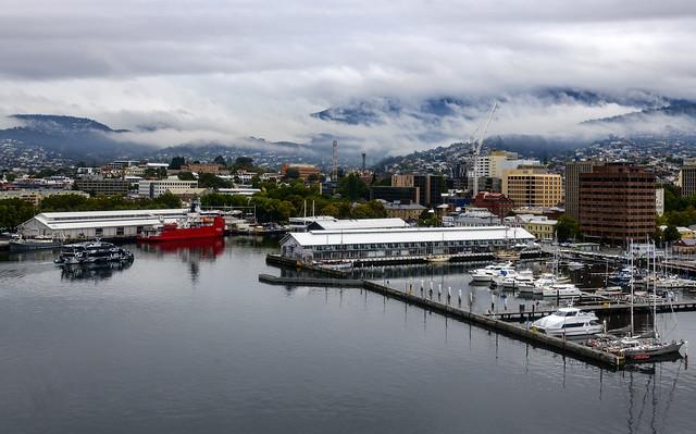 Port of Hobart / Порт Хобарт, Тасмания