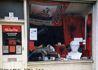 Albanian Shop, Betterton Street, Covent Garden, 1991 TQ3081-052