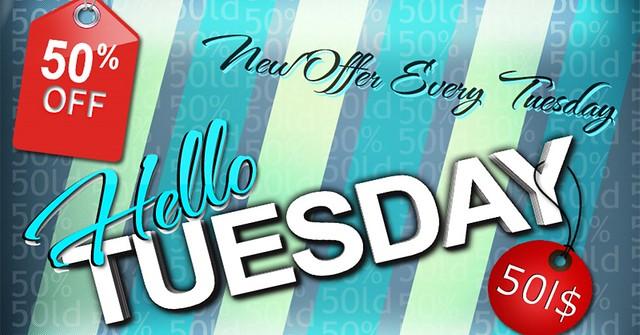 Hooray! Hooray! For Hello Tuesday!