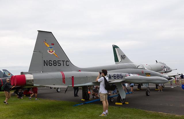 N685TC T-38, Oshkosh