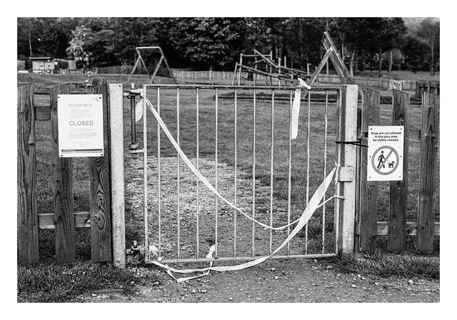 Pandemic scenes - No dogs, no children, no-one