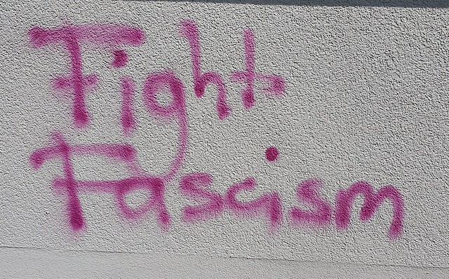 """Fight fascism"" Erfurt 2020"