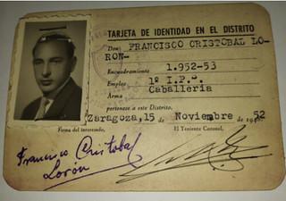 Tarjeta de identidad de Francisco