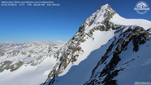 3 Bergsteiger unterwegs am GG