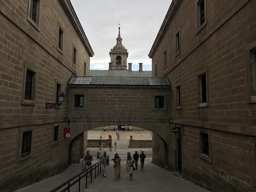 Calle de la Capilla en San Lorenzo de El Escorial (Madrid)