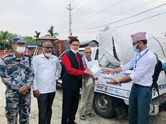 Nepal-equipment for Jhapa quarantine center