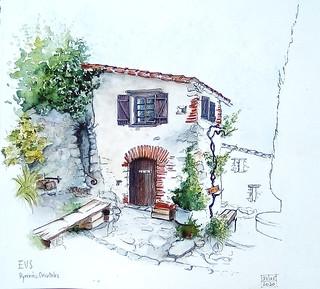 Eus, un des villages les plus ensoleillés de France, sauf ce dimanche ...