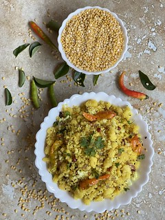 Moong dal upma | by wompindiacooks