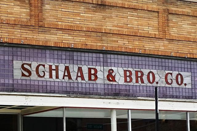 IN, Auburn-IN 427(Old) Schaab & Bro. Sign