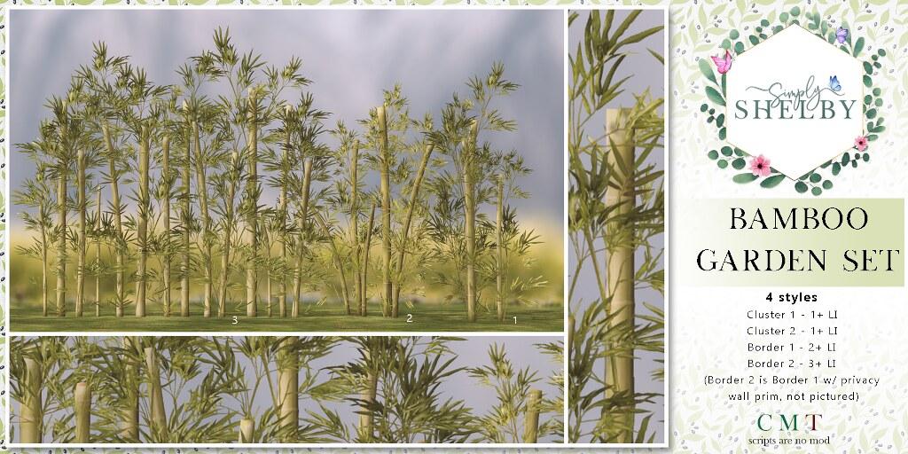 Simply Shelby Bamboo Garden Set