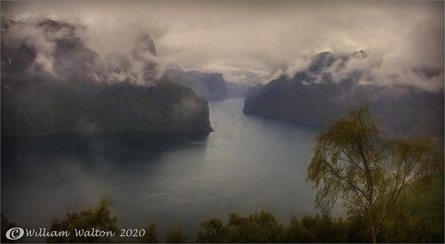Aurlandsfjord,Norway.