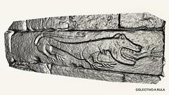 Mostro antropófago en Santa María de Marzá (Palas de Rei)