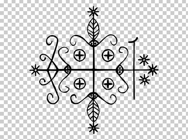 The Veve for Papa Legba