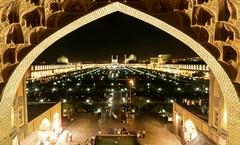 Naqsh-e Jahan Square at night