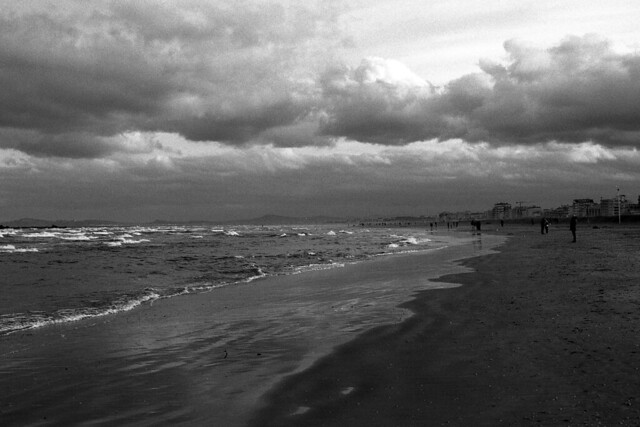 The end of a day - Rimini - February 2020