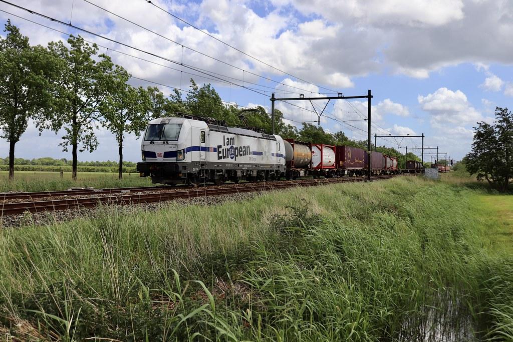 DB Cargo 193 362 te Schalkwijk 23 mei 2020