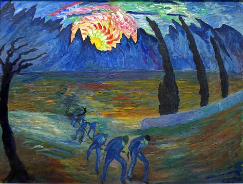 mariannevonwerefkin expressionismus expressionism museocomunaledartemodernaascona schweiz mariannawladimirownawerjowkina sonnenaufgang sunrise