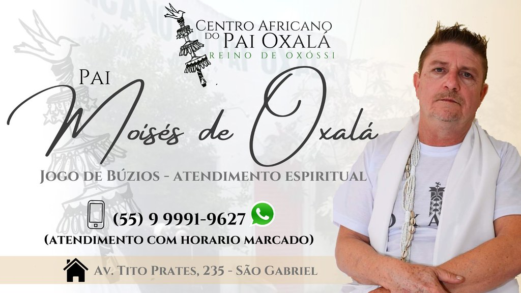 Centro Africano do Pai Oxalá - Moises de Oxalá