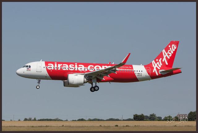 """A320 neo - AirAsia """" F-WWIQ ( 9M-xxx ) """" / 0059"""