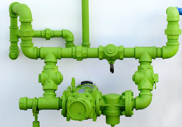 Pipes in Green