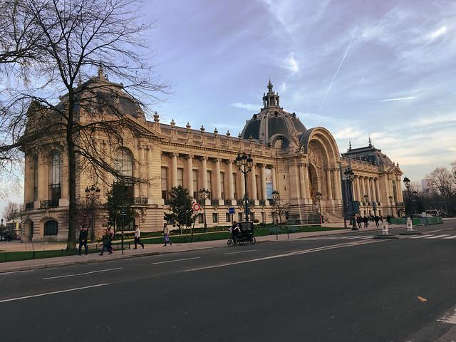 Paris France -  Petit Palais - Constructed for the 1900 World Fair