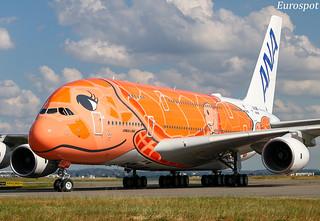 F-WWAL Airbus A380 All Nippon