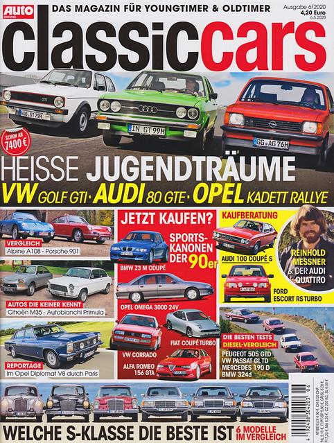 Auto Zeitung - Classic Cars 6/2020