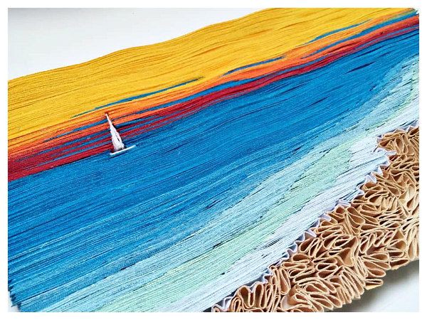 Quilled Seascape