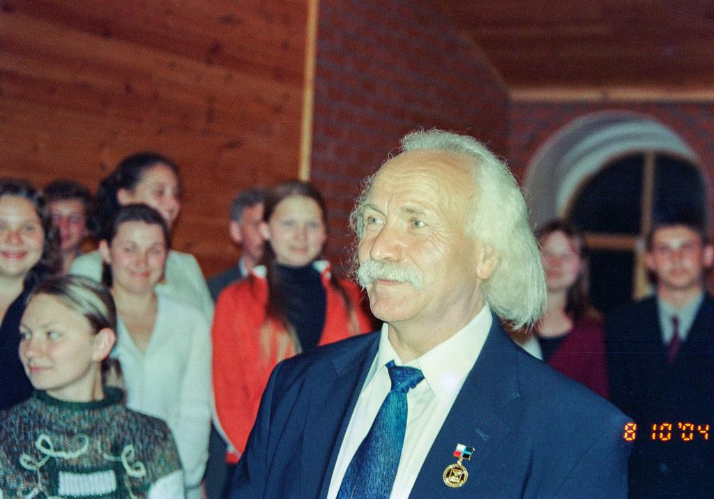 60-летие академика РАО М.П.Щетинин
