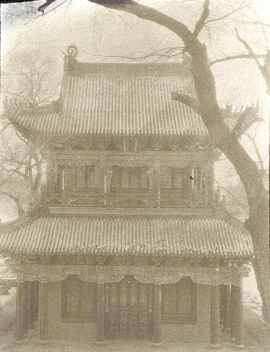 24. «Кумирня» в городе Улу-Гай. Ноябрь 1900