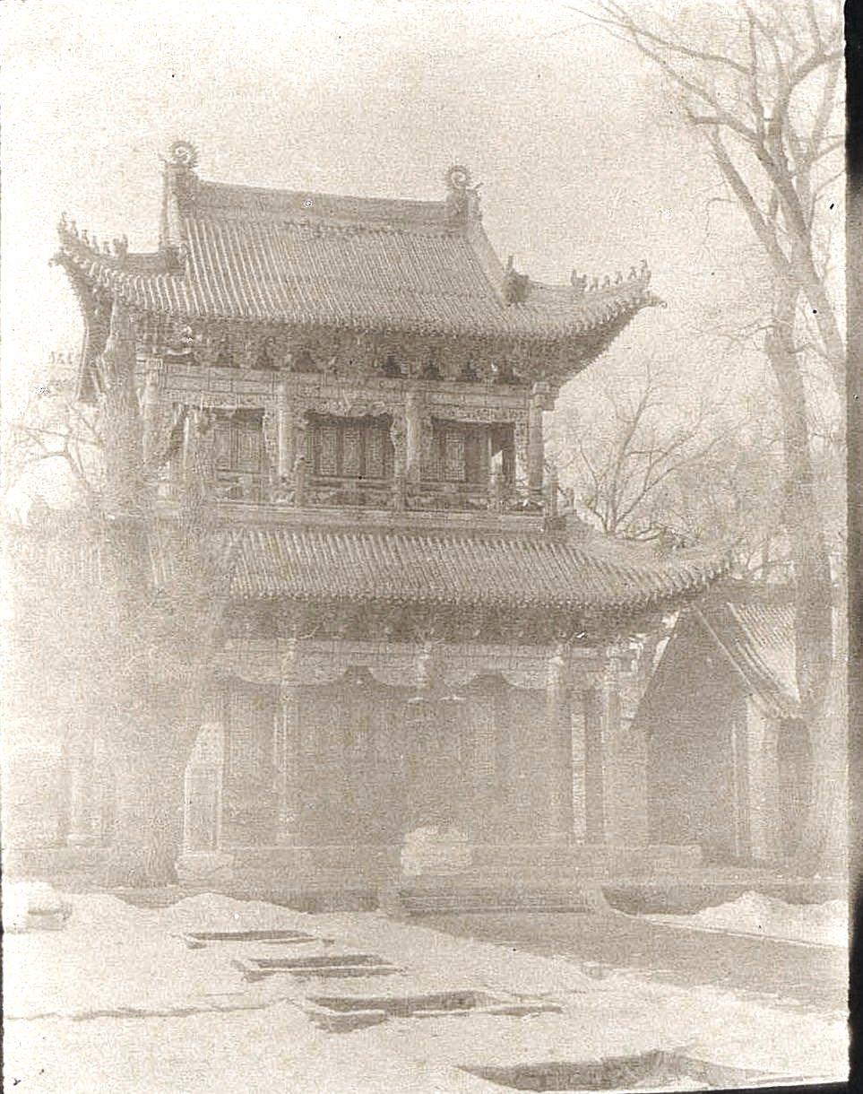 23. «Кумирня» в городе Улу-Гай. Ноябрь 1900