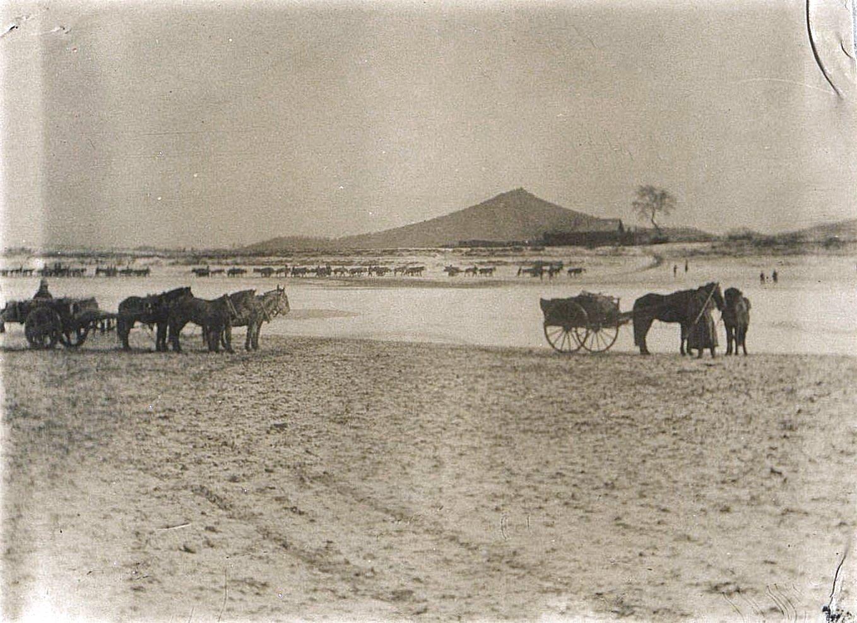 19. Переход через реку Сунгари по льду. 8 ноября 1900