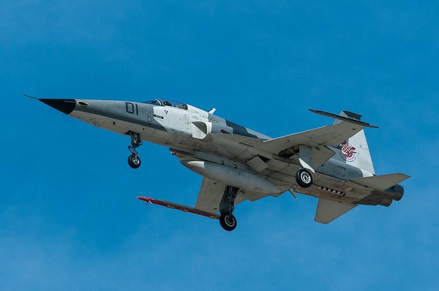 Tactical Air Support F-5 aggressor