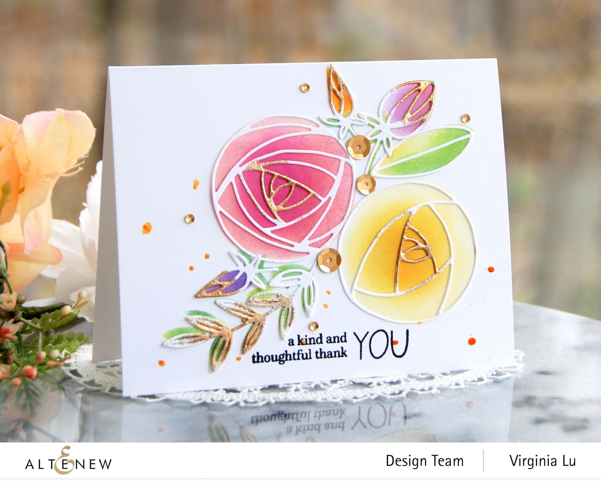 Altenew-Rolled Roses Die Set-Virginia#1