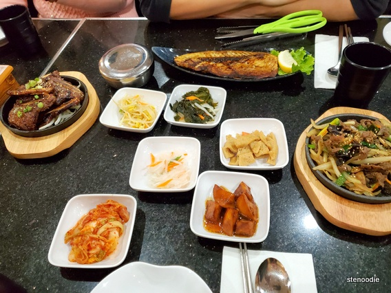 ONNURI Korean Restaurant dinner