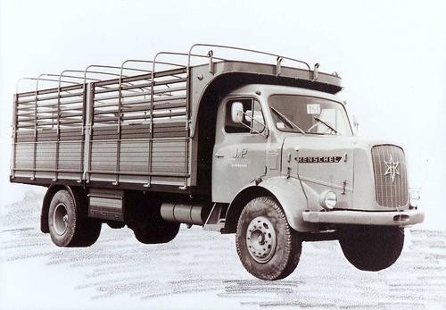 Henschel petit Transports Pujol Igualada