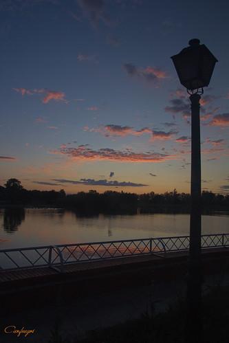 amanecer sunrise siluetas burn ardiendo