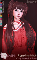 [^.^Ayashi^.^] Janice hair special for FaMESHed