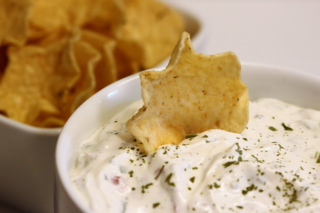 Veggie Dip with Chips