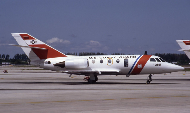 2141. US Coast Guard Dassault HU-25 Guardian