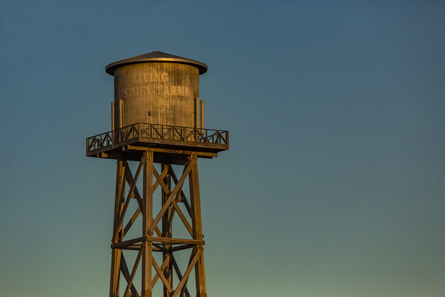 Water Tower for Living History Farms
