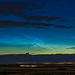 Noctilucent Clouds at Dusk Panorama (June 1-2, 2020)