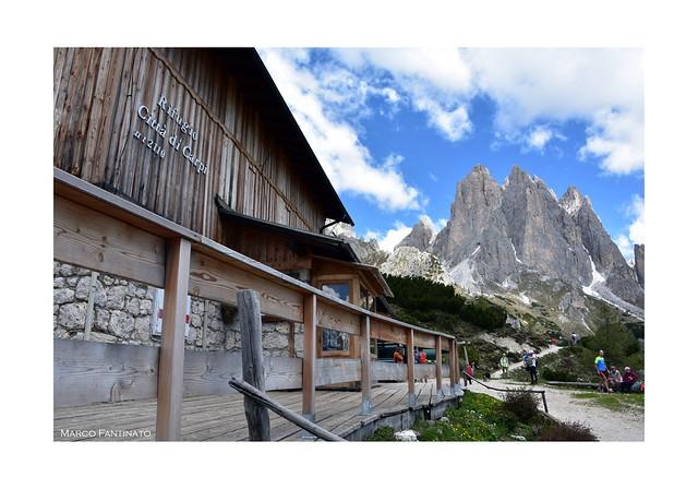 Dolomiti, rifugio Città di Carpi