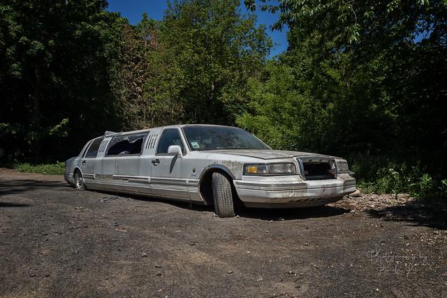 Abandoned Limousine