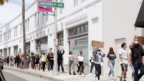 Beverly Hills protest
