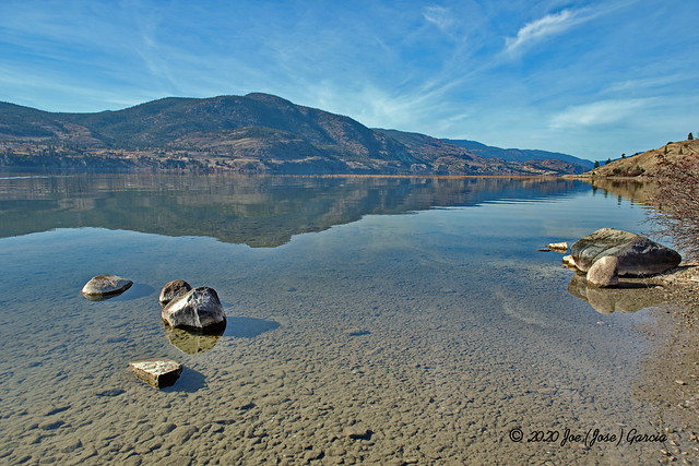 Skaha Lake Reflection