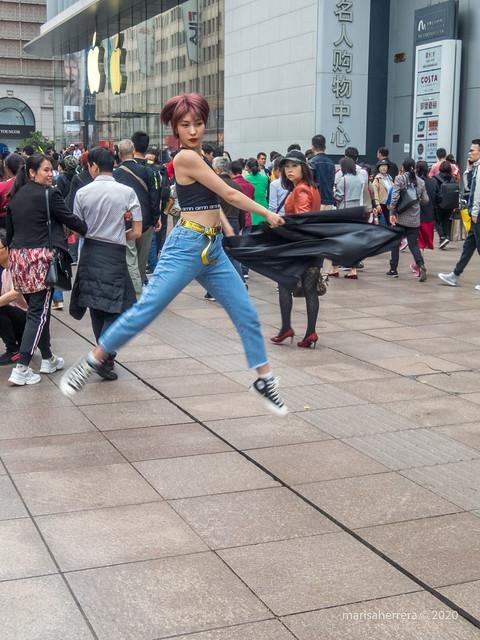 2019. China.  Shanghái.