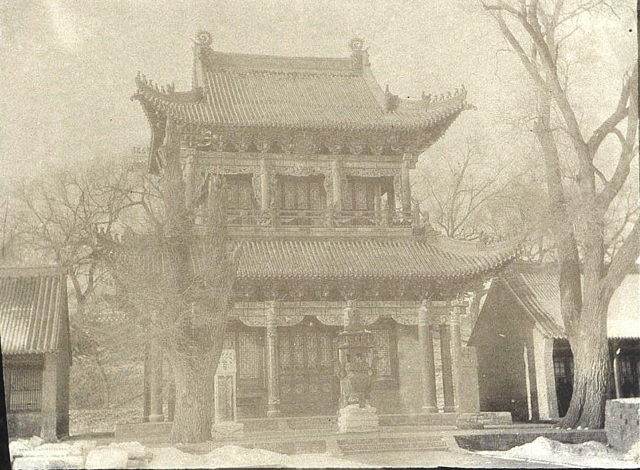 22. «Кумирня» в городе Улу-Гай. Ноябрь 1900