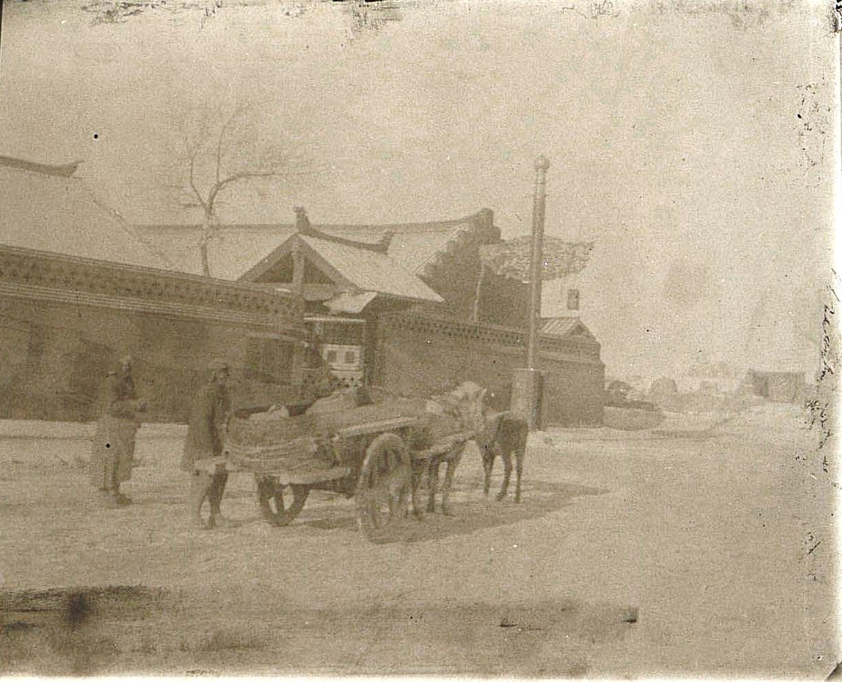 16. Улица в городе Ши-Си-Дян-Дза. Ноябрь 1900